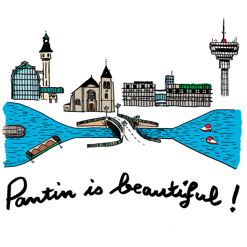 Projet | Pantin is beautiful ! | Thibaut Guittet